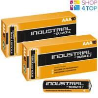 20 DURACELL AAA ALKALINE LR03 BATTERIEN 1.5V INDUSTRIAL MICRO MN2400 AM4 E92 NEU