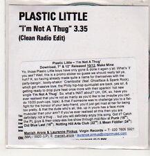 (EP460) Plastic Little, I'm Not A Thug - DJ CD