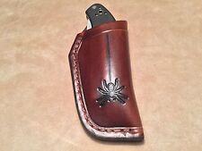 Custom Leather Sheath for SPYDERCO Manix 1 original and Sage 1