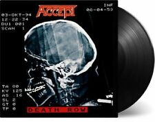 ACCEPT - DEATH ROW  2 VINYL LP NEU