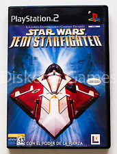 STAR WARS JEDI STARFIGHTER - PLAYSTATION 2 PS2 PLAY STATION 2 - PAL ESPAÑA