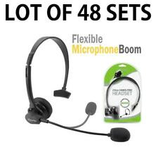 48x Cellet 2.5mm Hands-Free Headset with Boom Mic for Home Office Cordless Phone