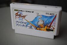 Jeu FINAL FANTASY III 3 pour Nintendo NES FAMICOM version Jap