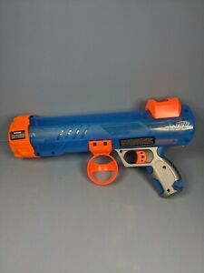 Used NERF DOG BALL BLASTER DOG PUPPY INTERACTIVE GAME BALL LAUNCHER 33435