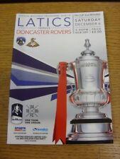 06/12/2014 Oldham Athletic v Doncaster Rovers [FA Cup] . Bobfrankandelvis (aka F