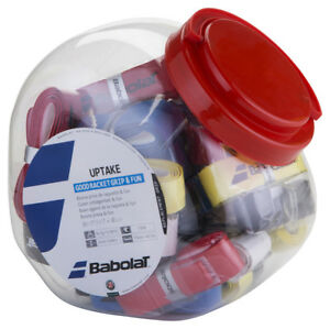 Babolat Uptake Replacement Grip Jar (30 Grips Included)