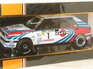 1/18 Lancia Delta Integrale 16V Martini Racing Rally Portugal 1990 #1 M.Biasion
