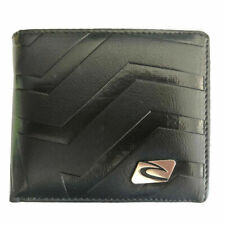 New with Box Rip Curl Men's Surf Synthetic Leather Wallet  Xmas Gift #011 Black