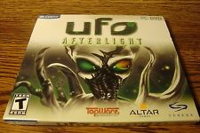 UFO AFTERLIGHT  PC CD-ROM Game Software Windows 7/8/ XP/ME/VISTA  * Rated T NEW