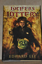 Edward Lee Lucifer's Lottery Signed Limited Edition -Mint condition- Rare