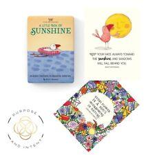 Sunshine Positive Affirmation Cards Daily Affirmations