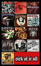"SICK OF IT ALL album discography magnet (4.5"" x 3.5"") wake the sleeping dragon"