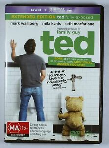 Ted DVD Extended Edition FREE POST