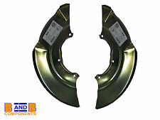 VW T4 TRANSPORTER CAMPER VAN FRONT BRAKE SPLASH SHIELD BACK PLATE x 2 A536