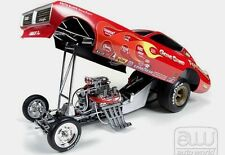AUTO WORLD METAL and PLASTIC 1:18 SCALE GENE SNOW 1971 DODGE CHARGER FUNNY CAR
