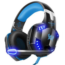 3.5mm Gaming Stereo Headset MIC LED Headphones For PC Laptop PS4 Xbox One 360 PS