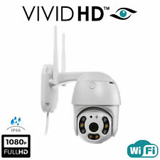 1080P WIFI IP Camera Wireless Outdoor CCTV HD PTZ Smart Home Security IR Cam UK2