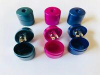 Milan Spitzer Dose Farbwahl  Blau Grün Pink