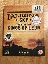 Talihina Sky, The Story of Kings Of Leon Blu-ray New/Sealed. Free Plectrum