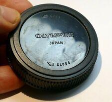 Olympus OM Rear lens Cap cover for om 50mm f1.8 f1.4 lenses - genuine OEM