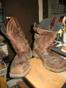 Red Wing Irish Setter Brown Pull Up 11 D Boots Men Steel Toe 83930