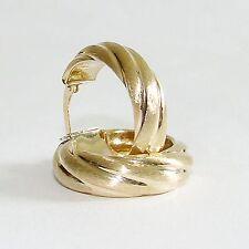 Ohrringe Gold 375 Creolen Ohrstecker 9 kt. Goldohrringe
