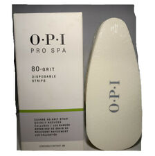OPI Pro Spa 80 Grit Disposable Strips -  20 pc