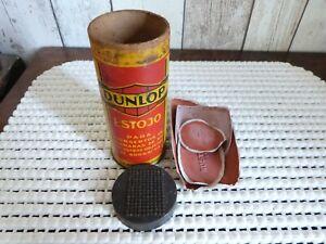 ancienne boite de rustines dunlop
