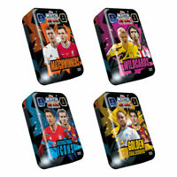 2020-21 TOPPS MATCH ATTAX CHAMPION LEAGUE SET OF 4 MEGA TINS (200 CARDS TOTAL!)