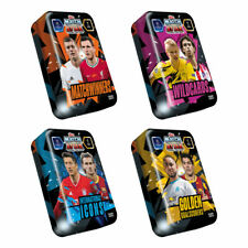 2020-21 TOPPS MATCH ATTAX campeón Liga Conjunto de 4 Mega latas (200 tarjetas en total!)