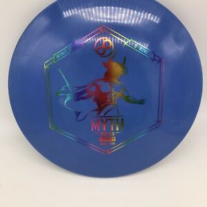 USED Infinite Discs Test Run Star-Blend Exodus 168g Blue - * Stamped As A Myth *