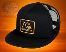 New Quiksilver Graffed Trucker Mens Snapback Cap Hat