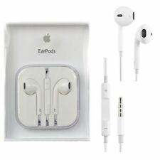 New Authentic Apple EarPods Earphones for iPhone X 8 7 6 SE 5 With Remote + Mic
