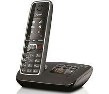 Gigaset C530A Cordless Home Phone with Answering Machine Loudspeaker Single