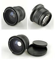 52mm Thread 0.35x Wide-Angle Macro Fisheye Lens for Canon Nikon DSLR SLR Camera