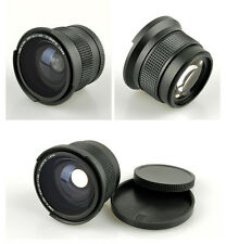 52mm Thread 0.35x Wide-Angle Fisheye Lens for Digital/video Camera Camcorder New