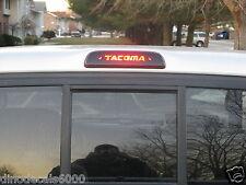 Toyota Tacoma 3rd brake light decal overlay 2010 2011 2012 2013 2014