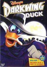 DARKWING DUCK Vol 1 Pilot & 1st 25 Eps 3-DVD Set NEW BUT UNSEALED!  Region 1