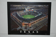 Texas Rangers MLB Night image @ The Ballpark In Arlington 22x28 box mount
