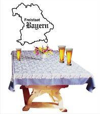 Wandtattoo, wall art, Freistaat Bayern geschnittene Folie