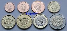 Letland setje 8 munten 2014 UNC Direct leverbaar!!