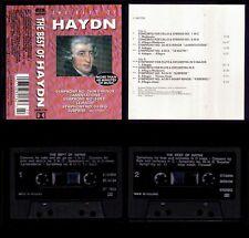 HAYDN - HOLLAND CASSETTE MCR - THE BEST 60 MIN - NEW SEALED /  NUEVO PRECINTADO