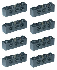 Missing Lego Brick 3701 Black x 8 Technic Brick 1 x 4