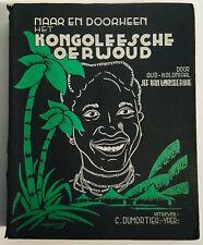 Jef Van Wiynsberghe - naar en doorheen het kongoleesche oerwoud Gesigneerd 1949