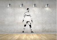 Cristiano Ronaldo Football Soccer Real Madrid Player Boys Wall Decal Lad Sticker