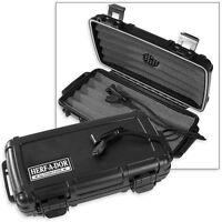 Herf A Dor X5 Five 5 Stick Cigar Caddy Travel Case Humidor - New