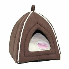 Petface Mollie's Luxury Faux Suede Igloo Cat Bed