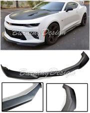 For 16-18 Camaro SS V8 ZL1 Style Front Bumper Lip Splitter Kit ABS Plastic