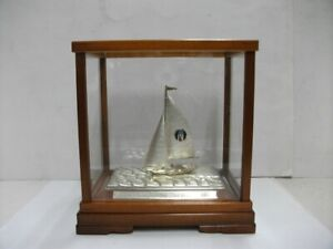 The sailboat of 985 Sterling Silver of Japan. #22g/ 0.78oz. TAKEHIKO's work