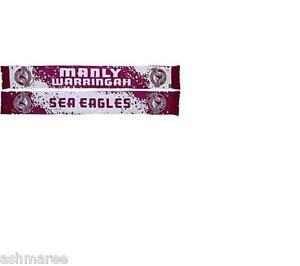 NRL Manly Sea Eagles Splash Design Jacquard Supporter Scarf